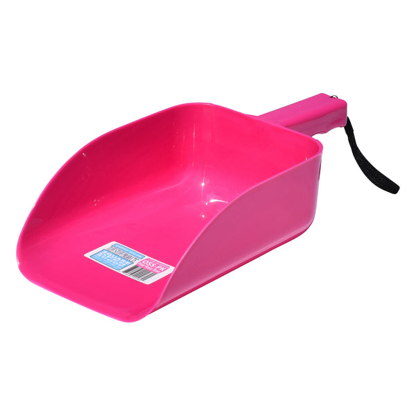 Tuff Stuff Open Square Scoop - Pink - Buckets Pails Feeders Scoops Tubs Bottles Tuff Stuff - Canada
