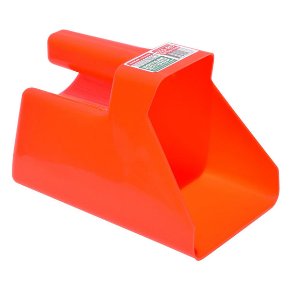Tuff Stuff Enclosed Square Scoop - Red - Buckets Pails Feeders Scoops Tubs Bottles Tuff Stuff - Canada