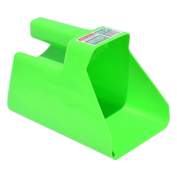 Tuff Stuff Enclosed Square Scoop - Green - Buckets Pails Feeders Scoops Tubs Bottles Tuff Stuff - Canada