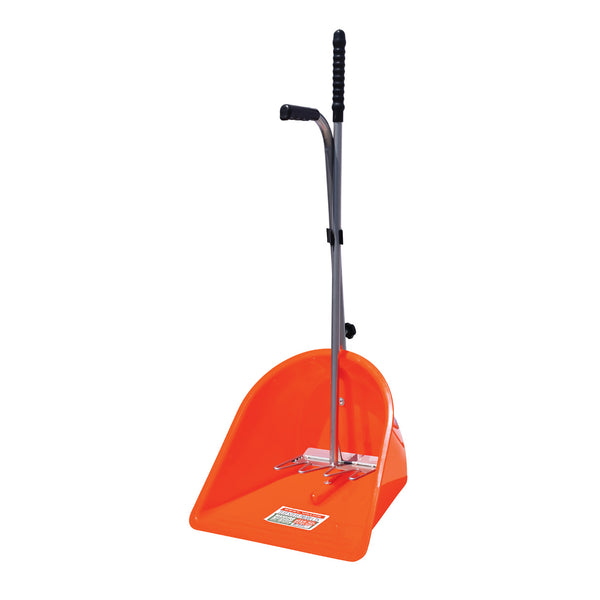 Tuff Stuff Manure Scoop W/ Rake - Red - Shovels Rakes Manure Scoops Forks Stirrer Twine Cutter Tuff Stuff - Canada