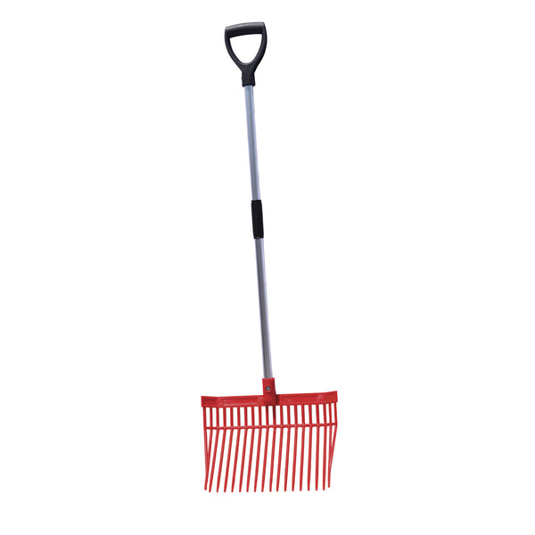 Tuff Stuff Hd Square Barn Fork (Red) - Shovels Rakes Manure Scoops Forks Stirrer Twine Cutter Tuff Stuff - Canada