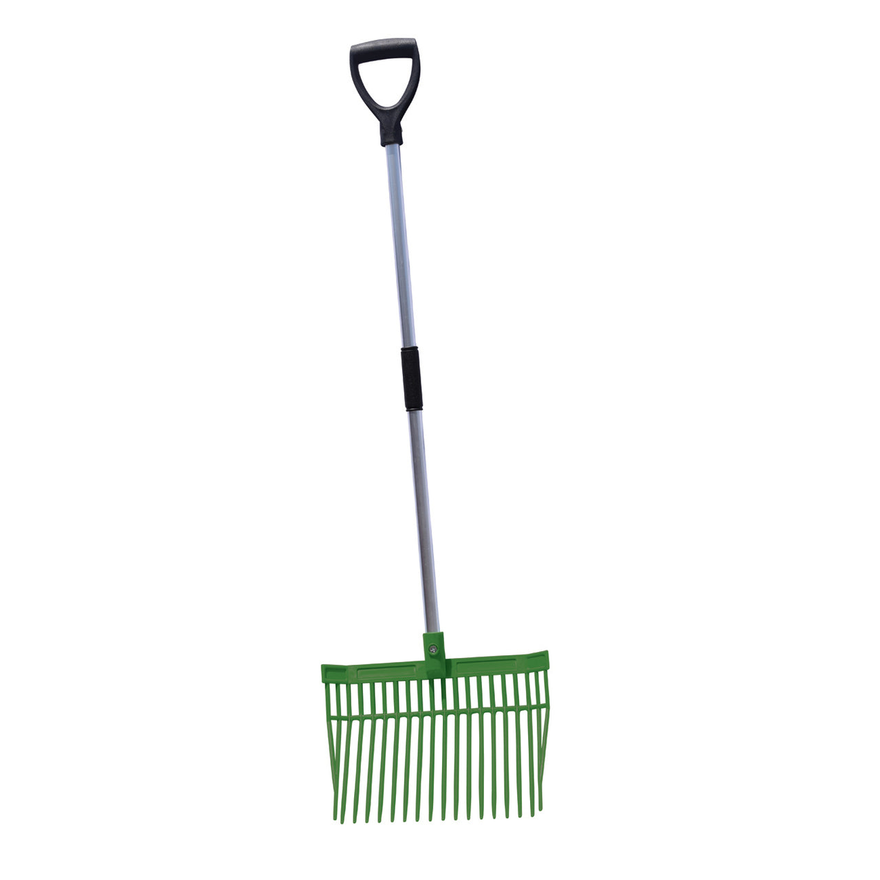 Tuff Stuff Hd Square Barn Fork (Green) - Shovels Rakes Manure Scoops Forks Stirrer Twine Cutter Tuff Stuff - Canada
