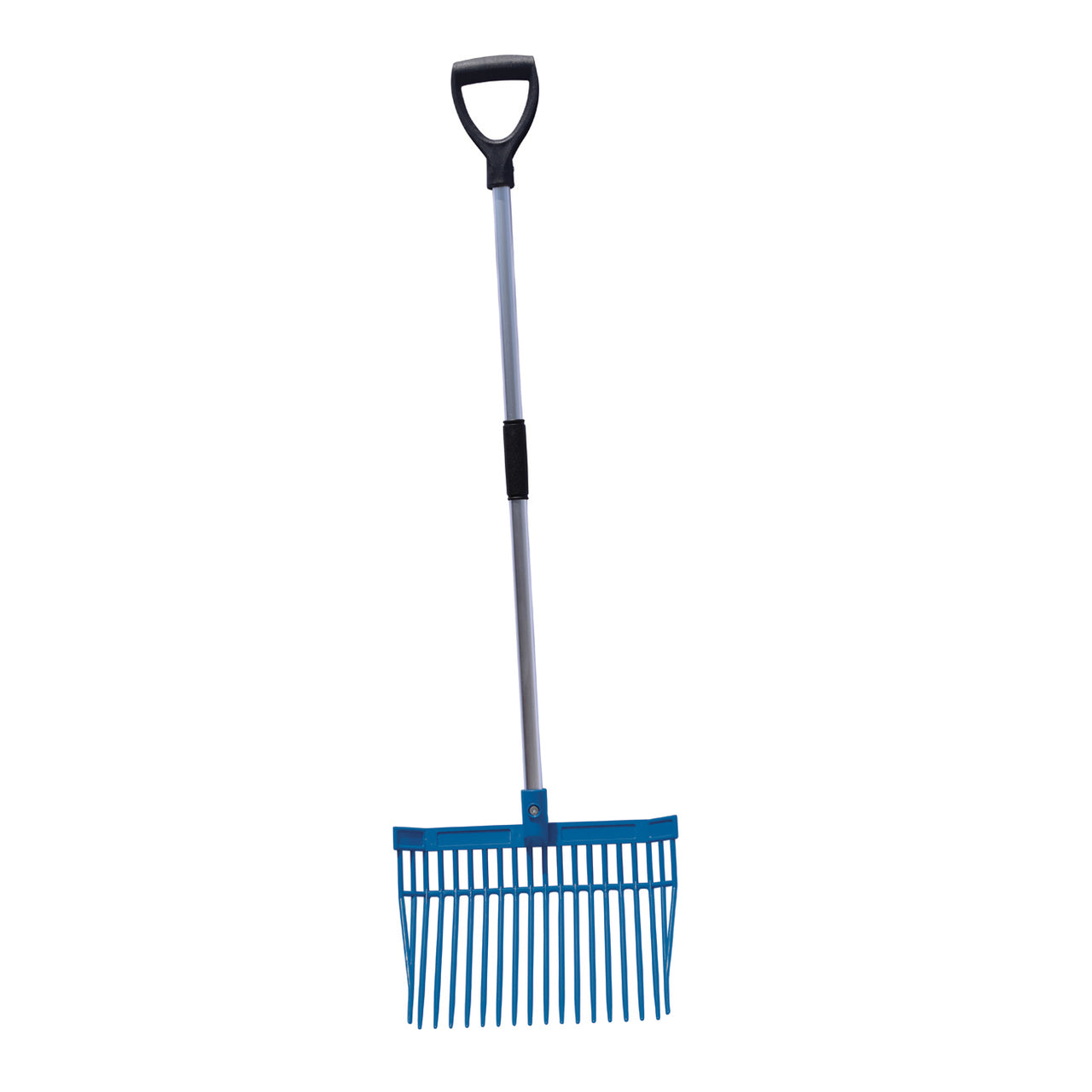 Tuff Stuff Hd Square Barn Fork (Blue) - Shovels Rakes Manure Scoops Forks Stirrer Twine Cutter Tuff Stuff - Canada