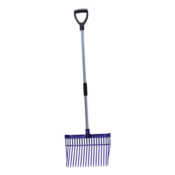 Tuff Stuff Hd Square Barn Fork (Purple) - Shovels Rakes Manure Scoops Forks Stirrer Twine Cutter Tuff Stuff - Canada