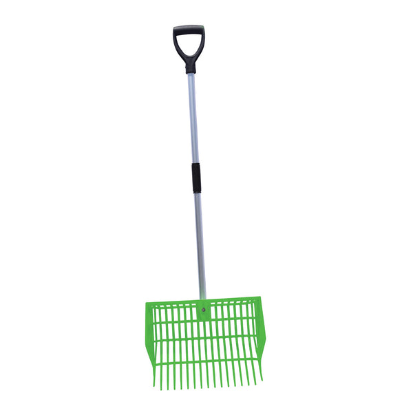 Tuff Stuff HD square basket fork - green