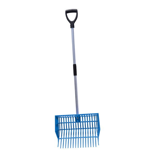 Tuff Stuff Hd Square Basket Fork - Blue - Shovels Rakes Manure Scoops Forks Stirrer Twine Cutter Tuff Stuff - Canada