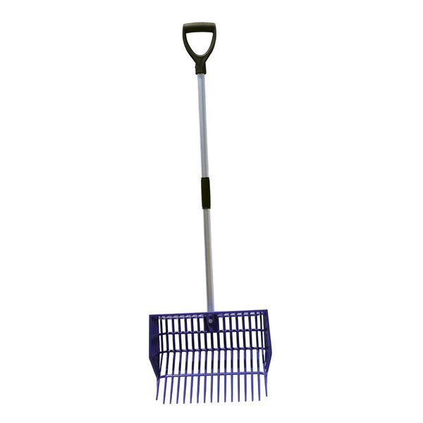 Tuff Stuff Hd Square Basket Fork - Purple - Shovels Rakes Manure Scoops Forks Stirrer Twine Cutter Tuff Stuff - Canada