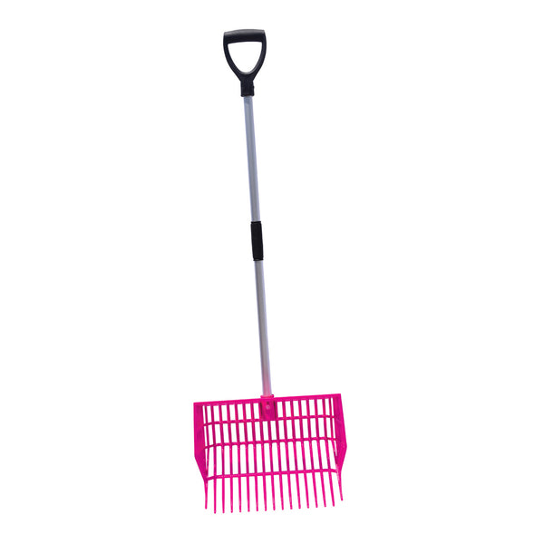 Tuff Stuff HD square basket fork - pink