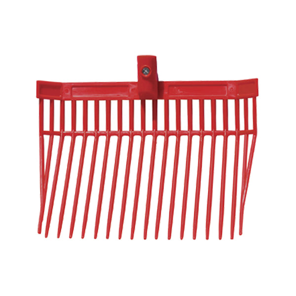 Tuff Stuff Barn Fork Head Only (Red) - Shovels Rakes Manure Scoops Forks Stirrer Twine Cutter Tuff Stuff - Canada