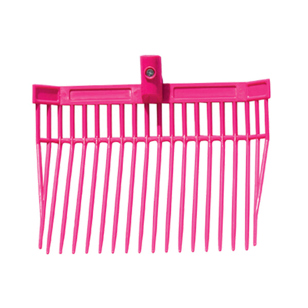 Tuff Stuff Barn Fork Head Only (Pink) - Shovels Rakes Manure Scoops Forks Stirrer Twine Cutter Tuff Stuff - Canada