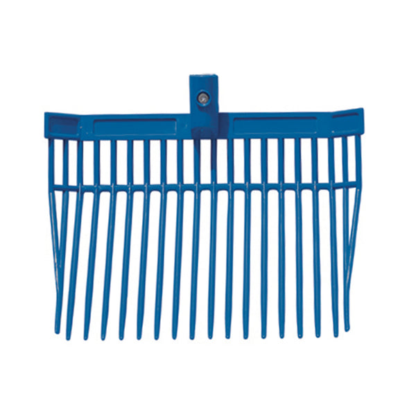 Tuff Stuff barn fork head only (Blue)