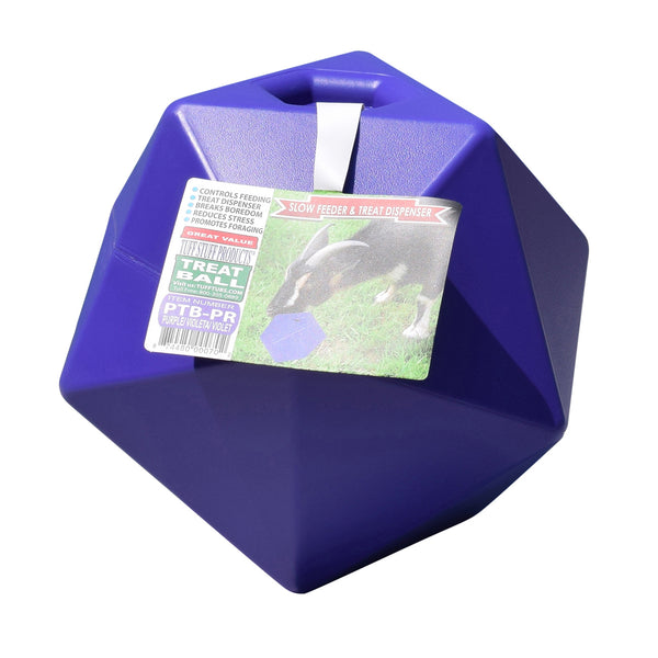 Tuff Stuff Horse Treat Ball - Purple - Plastic Horse Treat Ball Tuff Stuff - Canada
