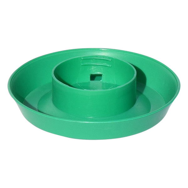 Tuff Stuff Enclosed Poultry Drinker 1 Qts Base (Green) - Poultry Feeders Drinkers Tuff Stuff - Canada