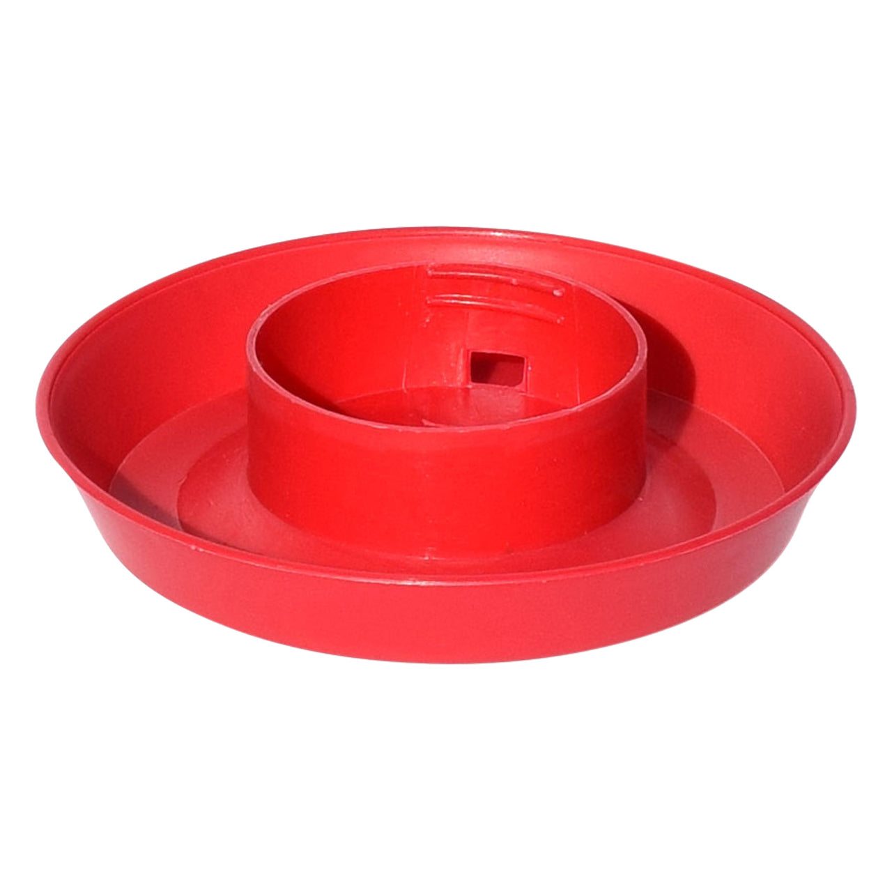 Tuff Stuff Enclosed Poultry Drinker 1 Qts Base (Red) - Poultry Feeders Drinkers Tuff Stuff - Canada