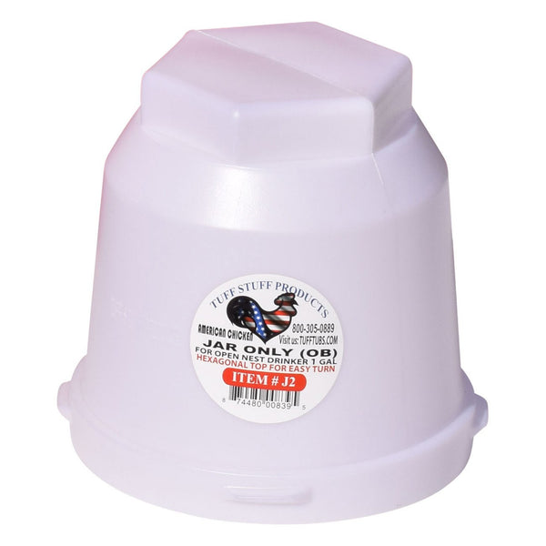 Tuff Stuff Jug For Gallon Poultry Drinker - Poultry Feeders Drinkers Tuff Stuff - Canada