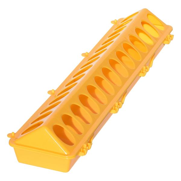 Tuff Stuff Poultry Ground Feeders 20 (Yellow) - Poultry Feeders Drinkers Tuff Stuff - Canada