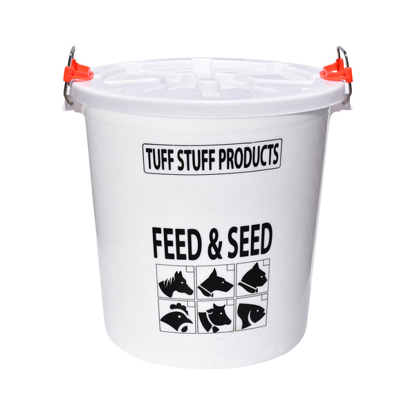 Tuff Stuff Storage Feed And Seed 12 Gallon - Storage Drum Tuff Stuff - Canada