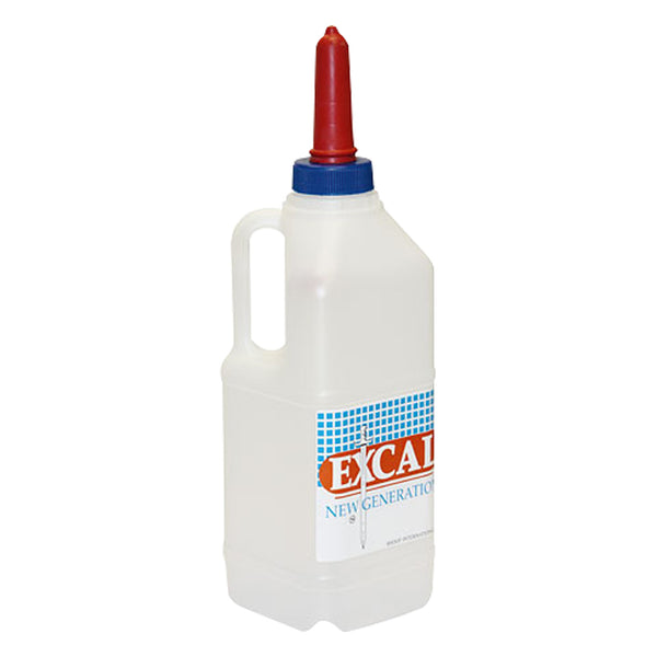 Excal Calf Bottle 2L - Nursing Weaning And Fluid Feeding Kerbl - Canada