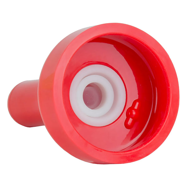 Bess Replacement Snap-on nipple red with insert