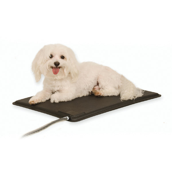 K&h Pet Products Lectro-Kennel Heated Pad & Cover Gray (Small-40W) - Lectro-Kennel Heated Pad & Cover K&h Pet Products - Canada