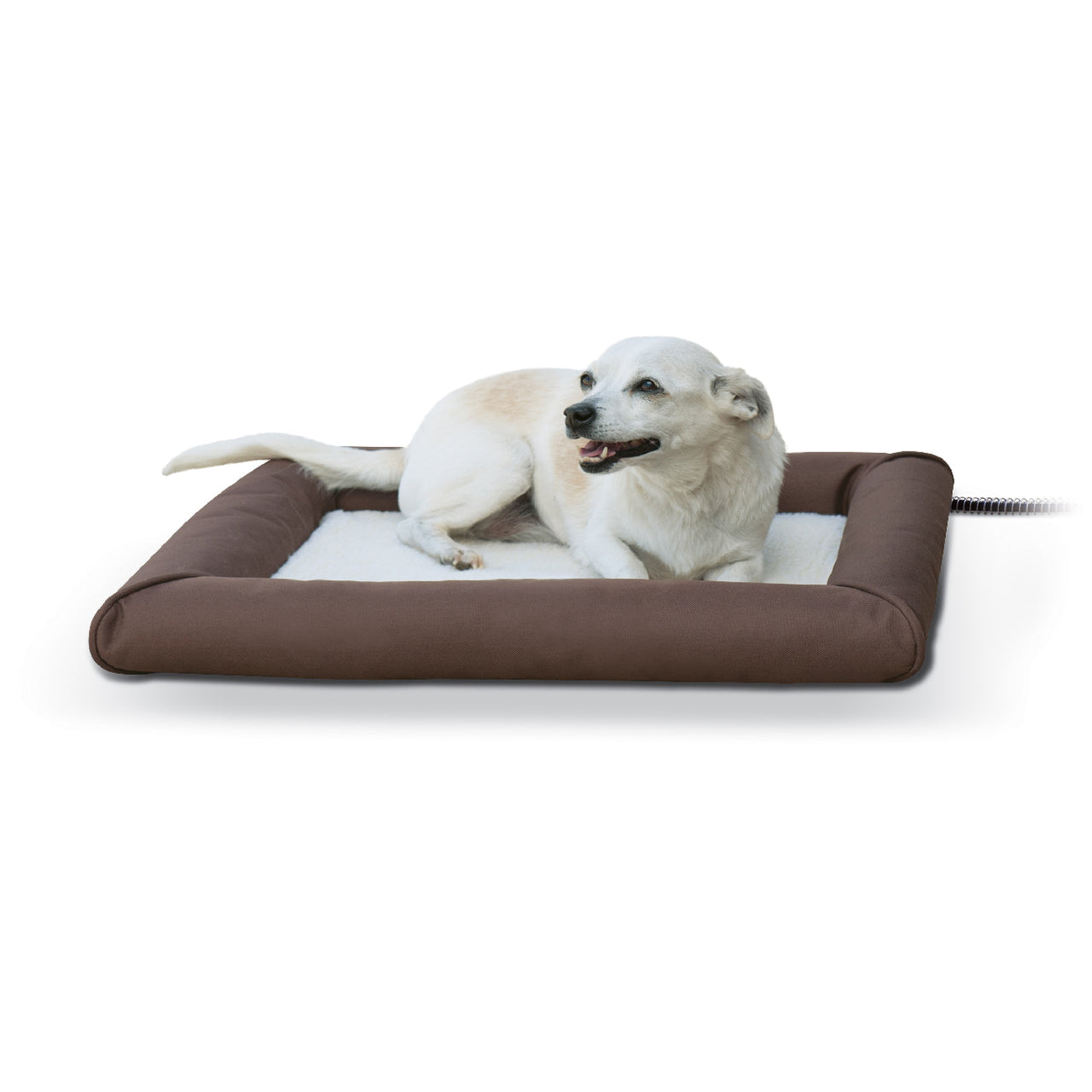 K&h Pet Products Deluxe Lectro-Soft & Cover (Medium-60W) - Deluxe Lectro-Soft Outdoor Heated Bed Tan K&h Pet Products - Canada