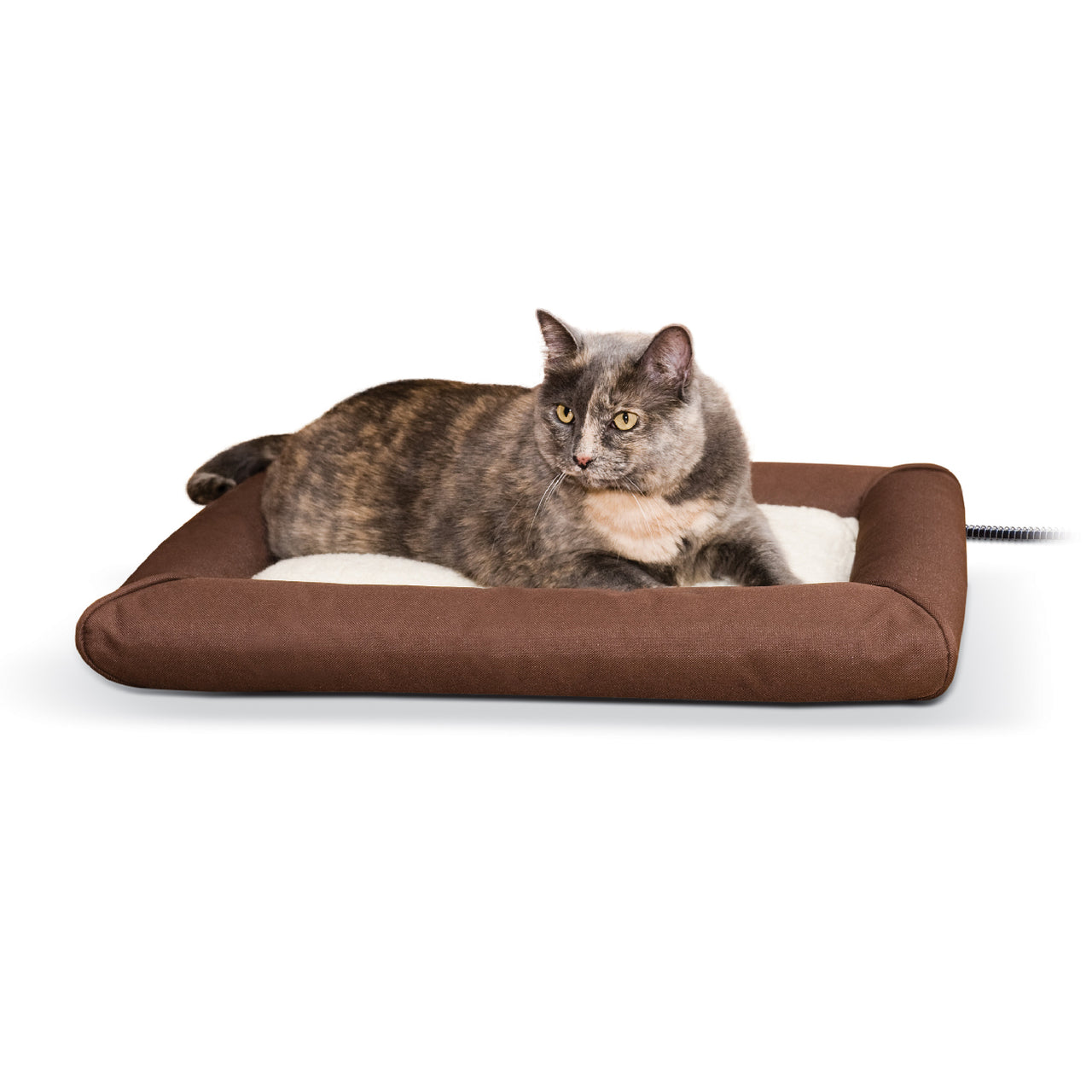 K&h Pet Products Deluxe Lectro-Soft & Cover (Small-40W) - Deluxe Lectro-Soft Outdoor Heated Bed Tan K&h Pet Products - Canada