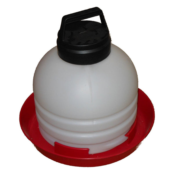 Millside Top Fill Poultry Fountain 3 Gallon (Sold In 2S) - Poultry Waterers Plastic Millside - Canada