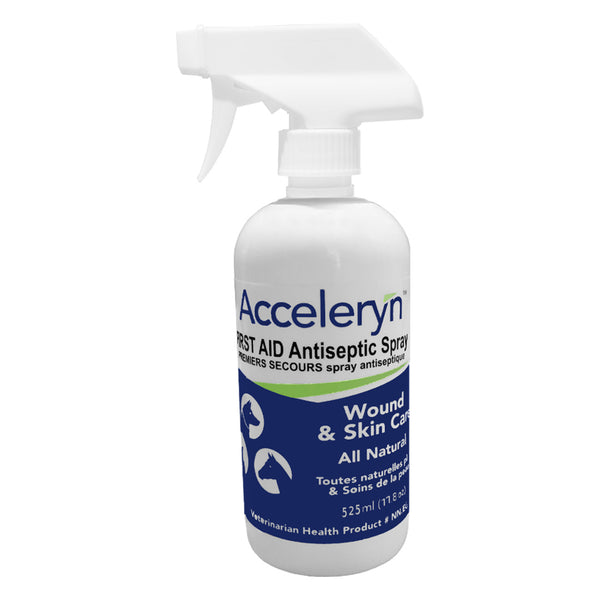 Acceleryn First Aid Antiseptic 525Ml - Companion Animal Supplements Acceleryn - Canada
