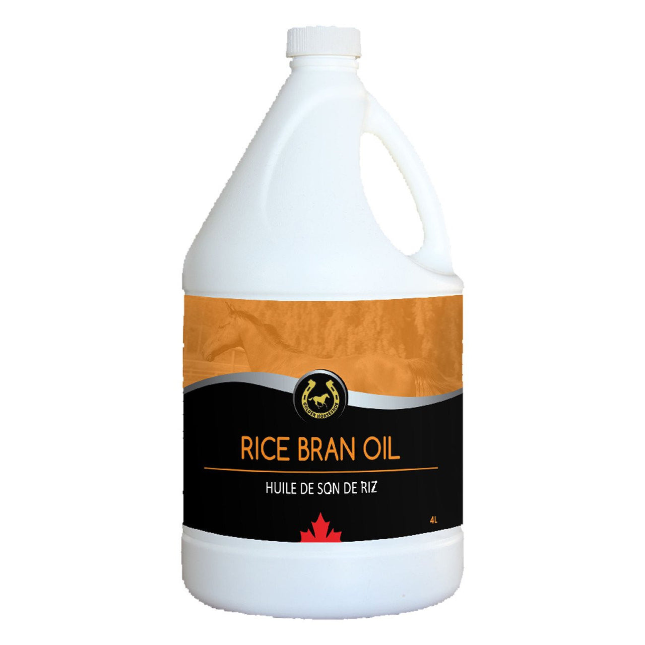 Ghs Rice Bran Oil 4L - Equine Supplements Ghs - Canada