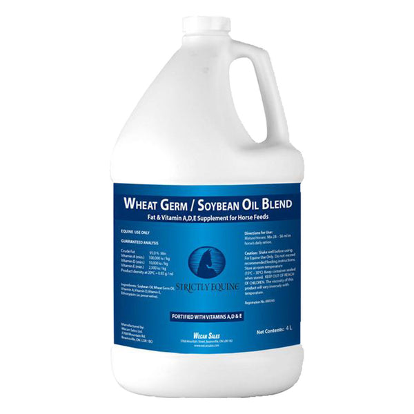 Strictly Equine wheat germ soybean oil