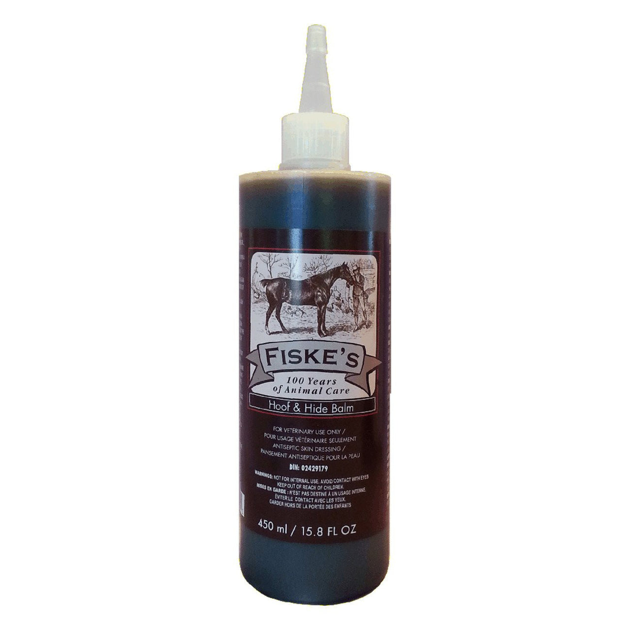 Fiskes Hoof And Hide Balm 450Ml W/ Yorker Cap - Equine Supplements Fiskes - Canada