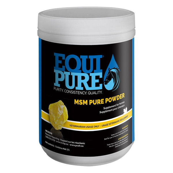Equipure Msm Pure Powder 454G - Equine Supplements Equipure - Canada
