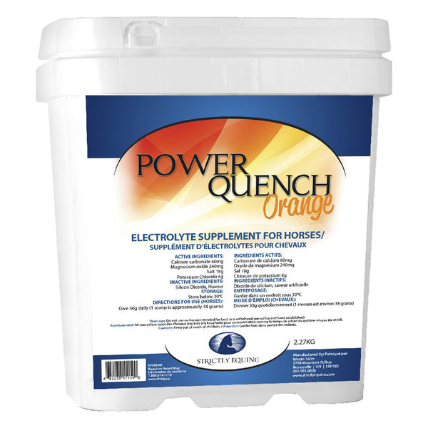 Strictly Equine Power Quench Orange 2.27kg