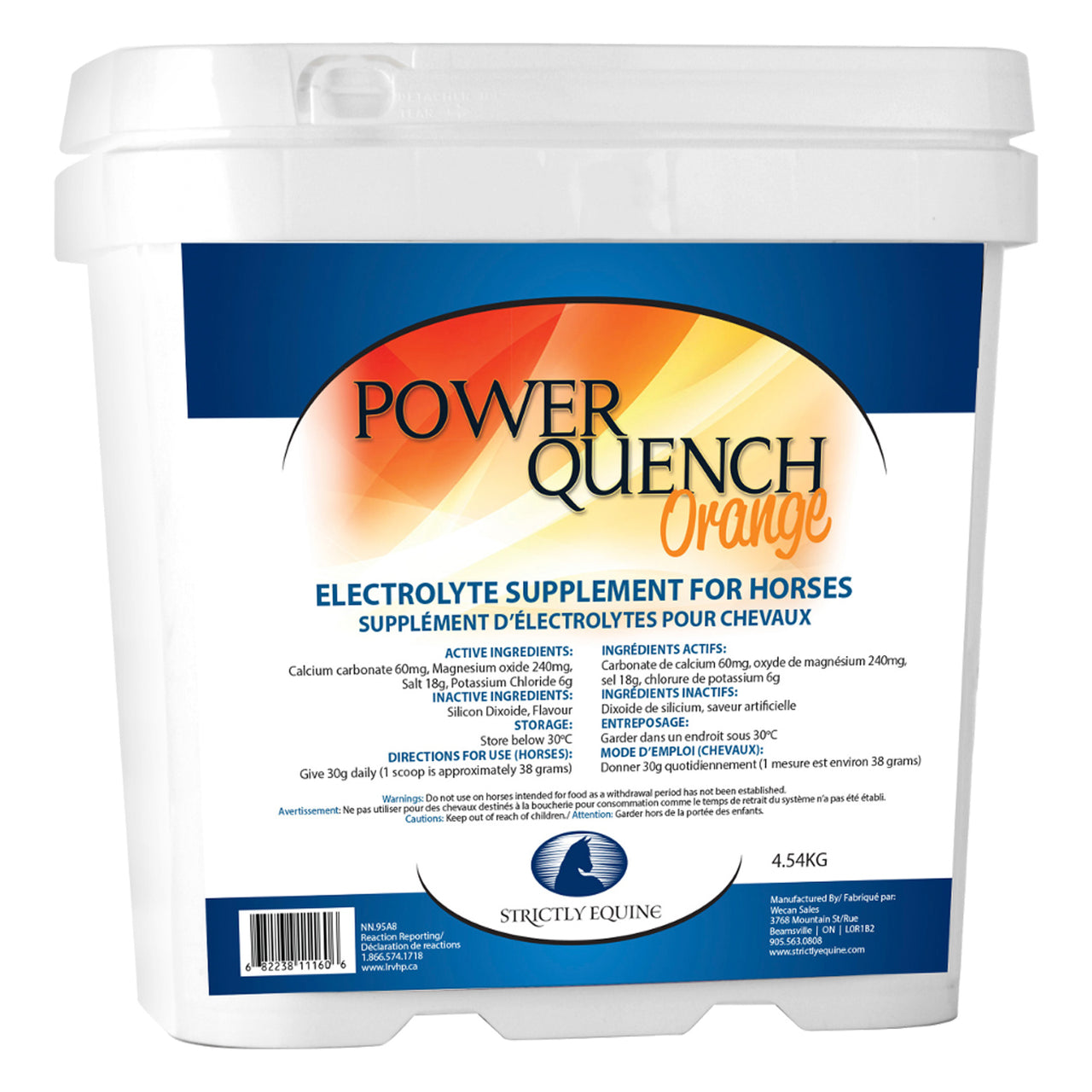 Strictly Equine Power Quench Orange 4.54kg