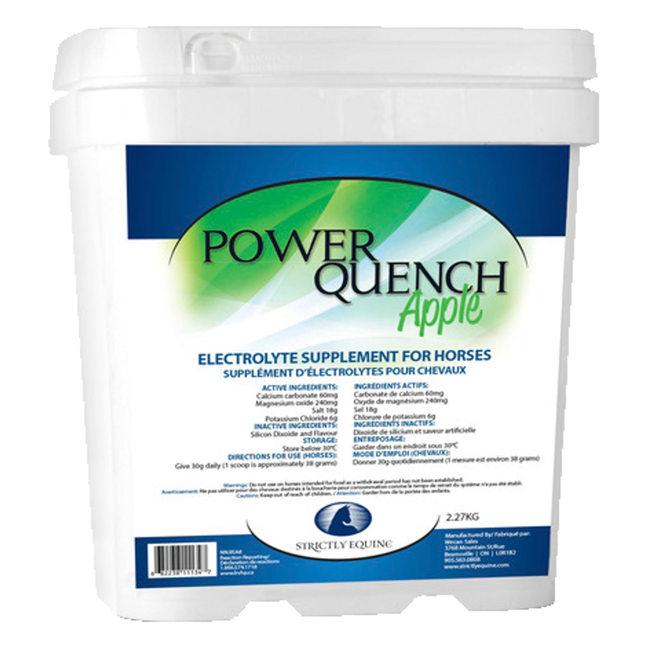 Strictly Equine Power Quench Apple 4.54g