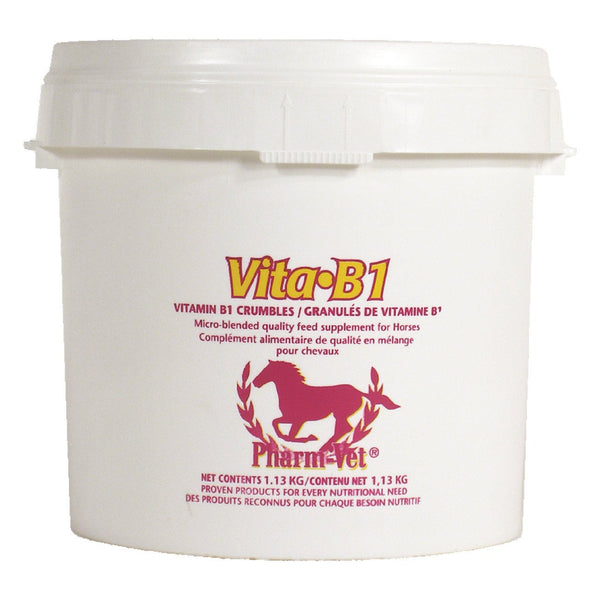 Pharm Vet Vita B1 Crumbles 1.13Kg - Equine Supplements Pharm Vet - Canada