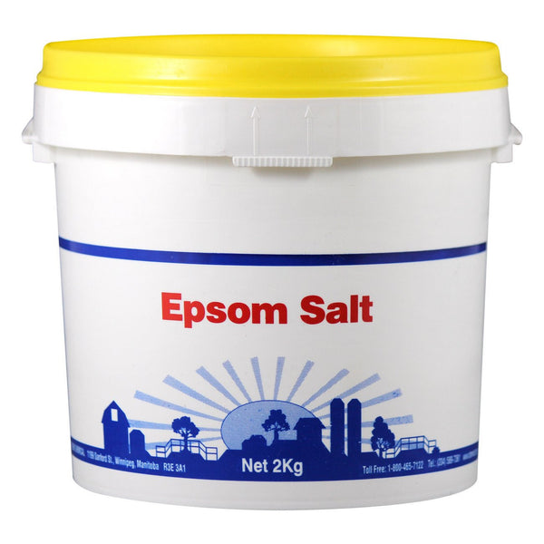 Shelbri Epsom Salt (U.s.p.) 2Kg - Equine Supplements Shelbri - Canada