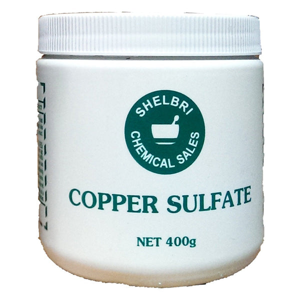Shelbri Copper Sulfate 400G - Equine Supplements Shelbri - Canada