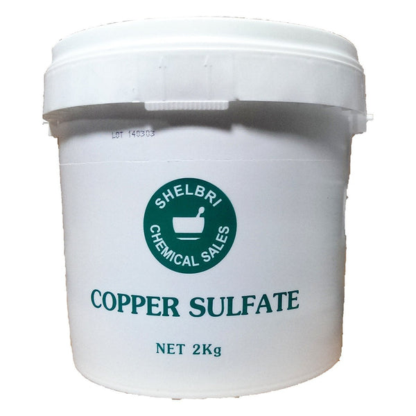 Shelbri Copper Sulfate 2Kg - Equine Supplements Shelbri - Canada