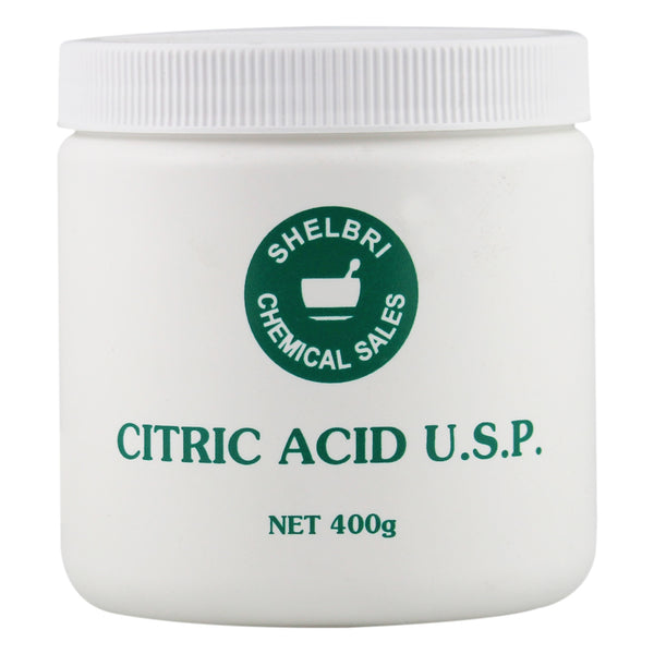 Shelbri Citric Acid U.s.p. 400G - Equine Supplements Shelbri - Canada