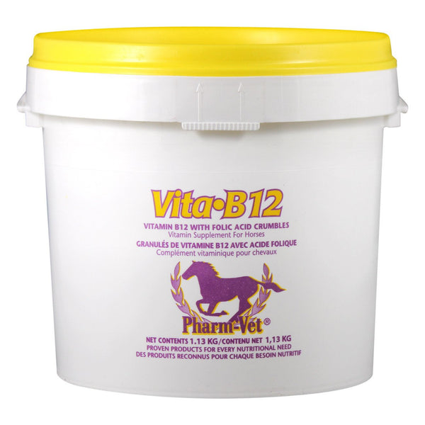 Pharm Vet Vita B12 With Folic Acid Crumbles 1.13Kg - Equine Supplements Pharm Vet - Canada
