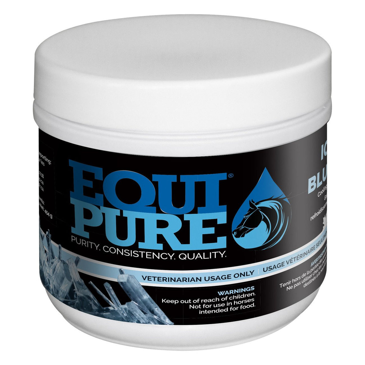 Equipure Icy Blue Cooling Gel 454G - Liniment/poultice Equipure - Canada