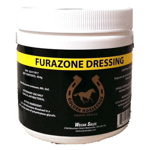 Ghs Furazone Dressing Ointment 0.2% Nitrofurazone (2 Sizes) - 454G - Pharmaceuticals Ghs - Canada