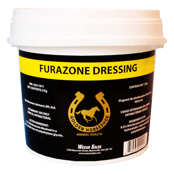 Ghs Furazone Dressing Ointment 0.2% Nitrofurazone (2 Sizes) - 2Kg - Pharmaceuticals Ghs - Canada