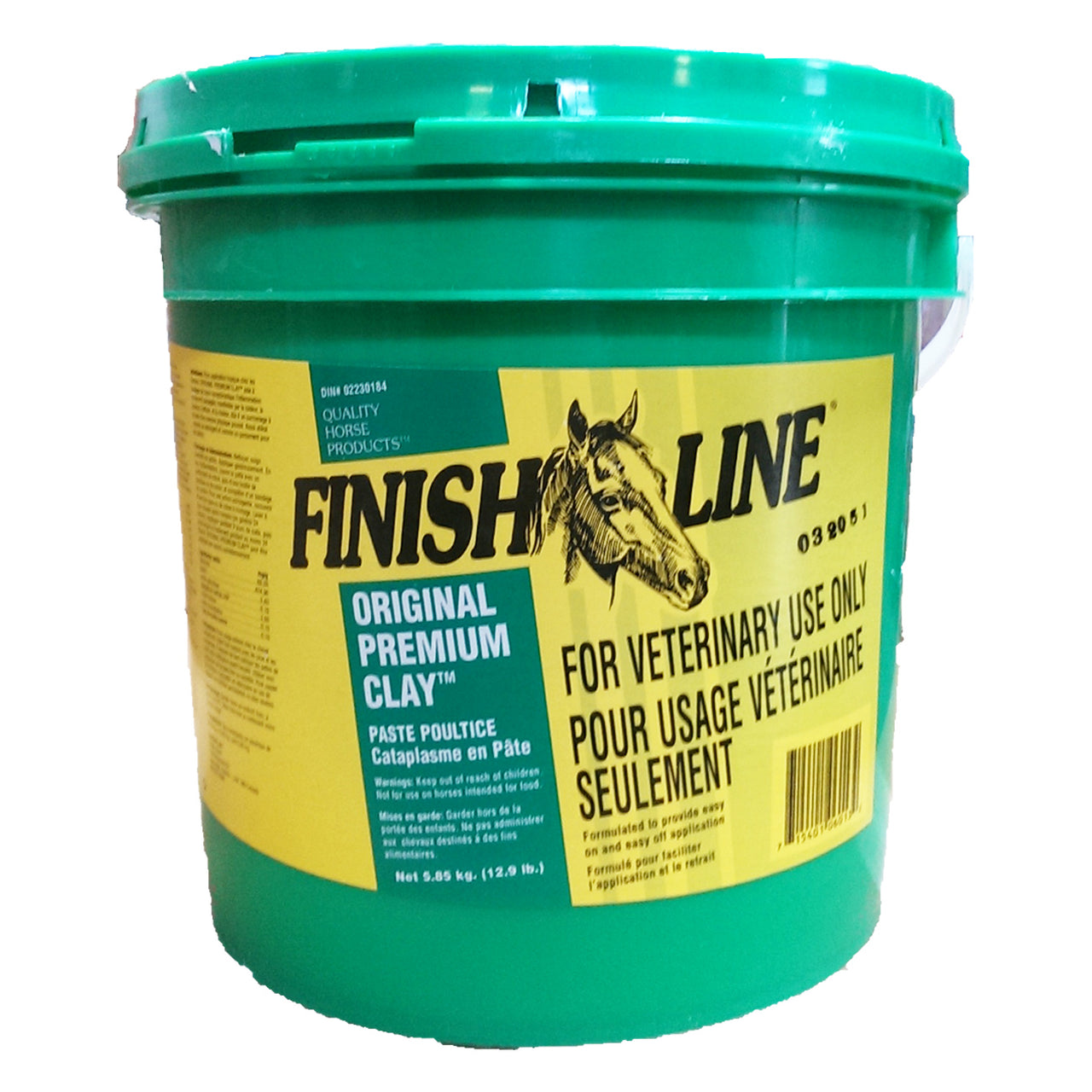 Finish Line Original Premium Clay Poultice (3 Sizes) - 5.85 Kg - Finish Line Horse Products - Canada