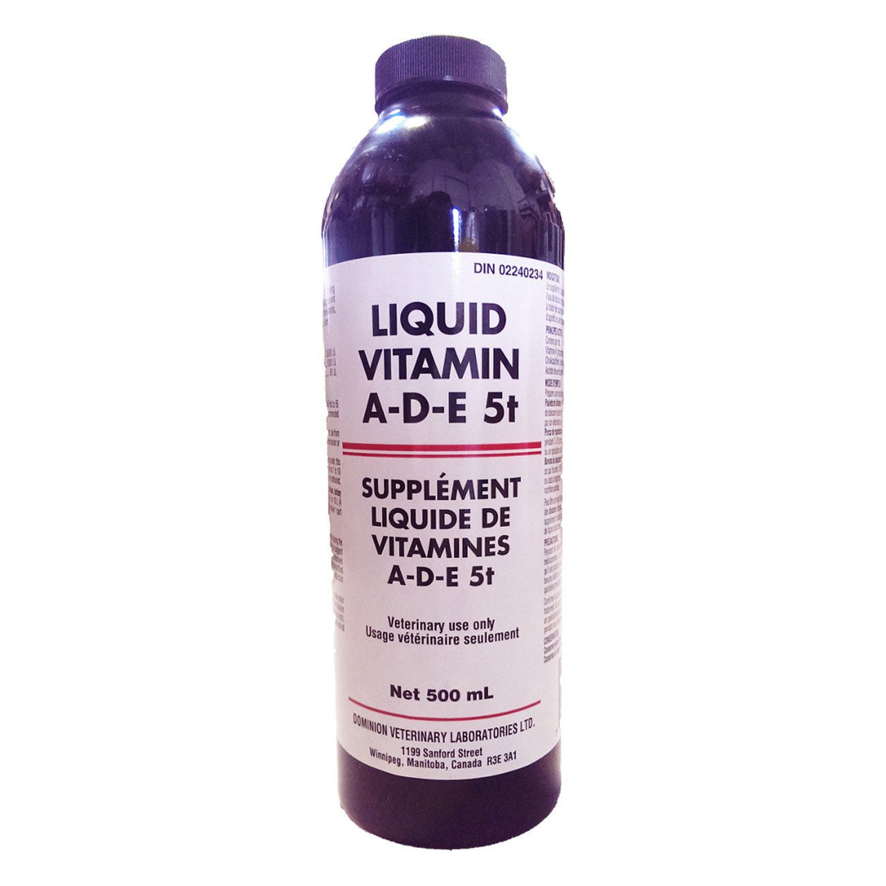 Dvl Liquid Vitamin A-D-E 5+ 500Ml - Pharmaceuticals Dvl - Canada