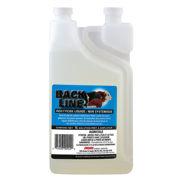 Backline Pour-On 1L - Parasiticides Engage - Canada
