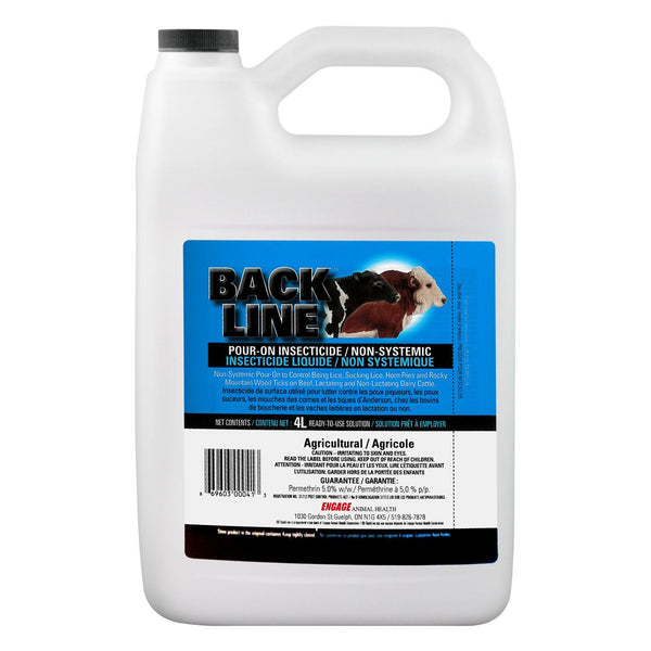 Backline Pour-On 4L - Parasiticides Engage - Canada