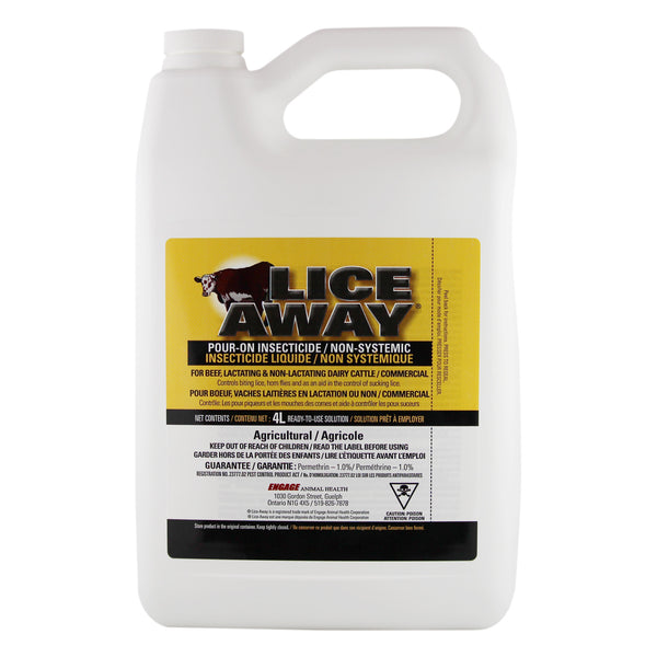 Lice-Away Pour-On Insecticide 4L - Pour-On Insecticide Engage - Canada