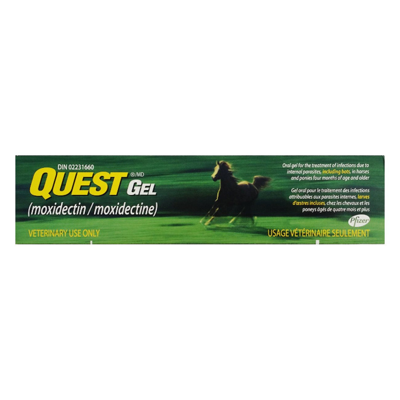 Quest Gel (2% Moxidectin) - Parasiticides Zoetis - Canada